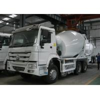 8-12m3 Concrete Mixer Truck 10 Wheeler HOWO Mixer Truck For Construction Area Manufactures