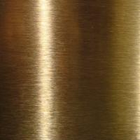 SUS316L  Golden Colors Colored Stainless Steel Sheets ,PVD Decoration Sheets 1250mm 1500mm Length Max 6000mm Manufactures