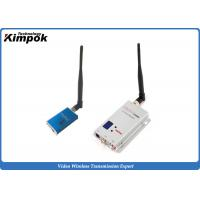 China Mini FPV Long Range Wireless Video Transmitter 1.2Ghz Real - Time Transmission on sale