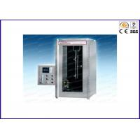 Automatic Vertical Fire Testing Equipment , Flammability Burning Testing Machine UL 1666 Manufactures