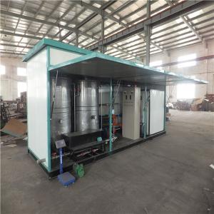 China Heater Exchanger Heating Bitumen Emulsion Plant For High Grade Asphalt Road Paving on sale