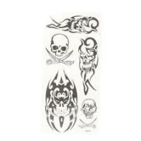 Realistic Temporary Portable Eco - friendly  custom tattoos designs stickers Manufactures