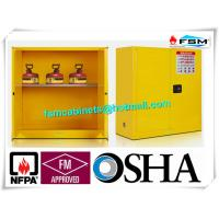 Fire Proof Outdoor Chemical Storage Cabinets , Gas Cylinder Safety Cabinets Manufactures
