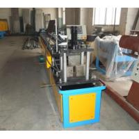 1mm Thickness Steel  C shape Stud Roll Forming Machine For Window Track Rail Manufactures