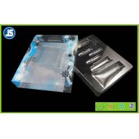 Foldable Recycled Packaging Plastic Folding Cartons , Plastic Cosmetic Box Manufactures