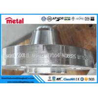 China ASTM B564 N08825 Nickel Alloy Pipe Flange Welding Neck Flange 600LB RF WN RF on sale
