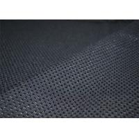 Fancy Tweed Wool Fabric Black Comfortable For Office Uniforms YF-LG001 Manufactures