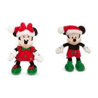 Red Disney Plush Toys Christmas Mickey Mouse Stuffed 45cm Customized Manufactures