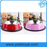 China Manufacturer Pet Feeder Stainless Steel Dog Bowl, Pets Products on sale
