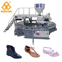 China Easy Operate Slippers Sandal Boots Making Machine For PVC TPR Material on sale