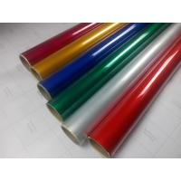Self Adhesive Engineer Grade Reflective Sheeting , Retroreflective Film Traffic Warning   Customized Manufactures