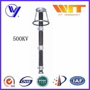 Ceramic Housed HV Surge Arresters 0.25KV ~ 500KV with Good Pressure Ratio Manufactures