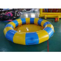 China 8 Person Towable Tube , Disco Boat Inflatable Water Rocker Saturn for Seashore on sale