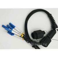 PDLC 2 / 4 / 6 Cores Fiber Optic Outdoor Cable Insertion Loss < 0.3dB Manufactures