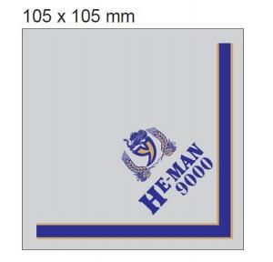 UV Proof Aluminum Foil Labels Embossed Printed Aluminum Foil Stickers Manufactures