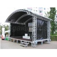 Customer Design  4 Pillars True Project Stage Lighting Truss 6x6 x 6 M Fixed Height Roofing with High Loading Manufactures
