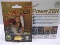 China Powerzen Gold 1 Pill Pack Herb Natural Male Enhancer on sale