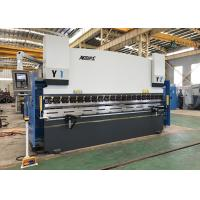 175 ton x 4000mm 3 Axis CNC Press Brake Machine with DELEM DA52s CNC System Manufactures