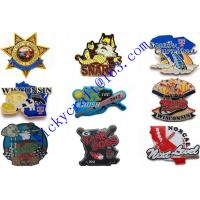Promotional gifts color enameled button badges pins
