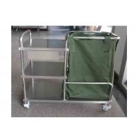 China Stainless Steel Dressing Trolley Push Cart Hospital Medical Trolley (ALS-MT14B) on sale