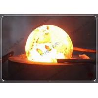 China Air Hammer Hot Rolling Forged Grinding Balls , Grinding Media Balls For Cement Plant on sale