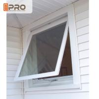 China Double Glazing Aluminum Awning Windows / Top Hung Roof Window ISO9001 on sale