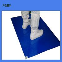 China Instrument Cleanroom Tacky Mats , ESD Rubber Mat High Temperature on sale