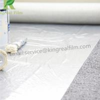 Transparent Clear 0.03mm-0.20mm Thickness Anti Damage Removable Construction PE Protective Film Manufactures