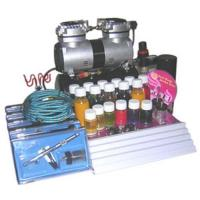China Temporary airbrush tattoo luxury kit on sale