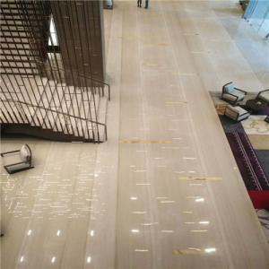 Rome Wood Grain Marble Natural Stone Tiles Unique Design OEM Service Manufactures