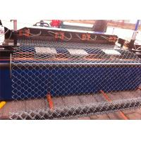Galvanized chain link fence( diamond wire mesh), PVC Coated Chain mesh Fence Manufactures