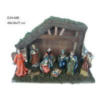 10 Pieces Ceramic Nativity Set Figurine (D19-005) Manufactures