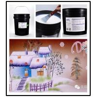 Silk Screen Crystal Water Based High Gloss Varnish For Spraying Glitter Flake After Printing Manufactures