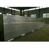 Fireproof Rockwool Glasswool Rmetal Sandwich Panels With Pir Side Sealing Manufactures