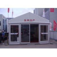 Customized Outdoor Event Tents UV Resistant / Fire Retardant With Glass Door Manufactures
