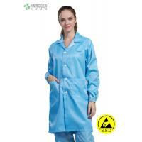 China Anti Static ESD Garment Resuable Class1000 Coverall in SMT Workshop on sale