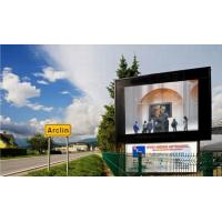 Full Color P20 outdoor led curtain display board 1/4 scaning 360HZ for entertainment Manufactures