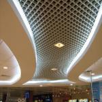 100mm*100mm Aluminum Grid Ceiling Tile for Interior Decoration Manufactures