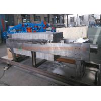 China Suspension Solid Liquid Separation Corrosion Resisting Stainless Steel Filter Press on sale