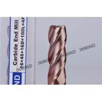 TiSiN Coating , Carbide  End Mill , 16mm 2Flute 4 Flute , Carbide Cutter , upto HRC55     , Manufactures