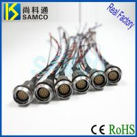 MHG.2B Push Pull Connector, Self Latching Connector Cable Assembly, Wire Harness Manufactures