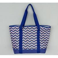 China Outdoor Insulated Cooler Bags Full Printed 600D Polyester Tote Beach on sale