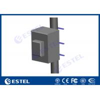 Equipment Battery Outdoor Pole Mount Enclosure Anti- corrosion Powder Coating Strong Weather Resistance Manufactures