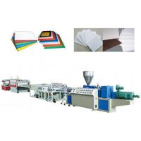 PVC Crust Foam Plastic Sheet Extrusion Line Automatic Haul off unit Manufactures