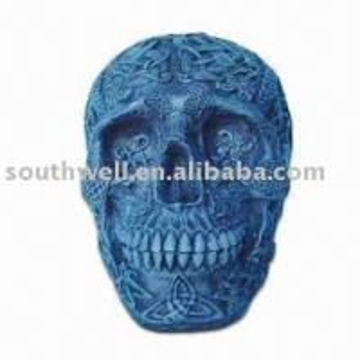 Quality resin skull statue,skull head for sale