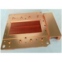 Precision Brass Stamping Cooling Heatsink Skiving And Machining Heat Sink with Antioxidant Treatment Manufactures