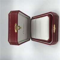 Cartier Pair Ring Box High Quality Gold Jewelry Diamond Ring Package Box with Cartier Certificate Manufactures