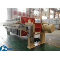 China Industrial Mechanical Filter Press With 1250*1250mm Filter Plate 4kw Motor Power on sale