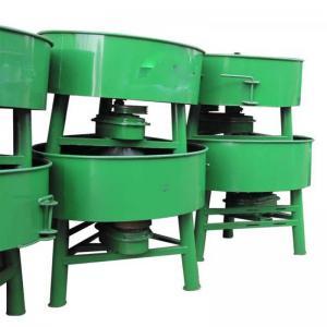 China 6. JQ350 mini automatic control pan type concrete mixer machine on sale