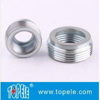 """Electrical IMC Conduit And Fittings 3/4"""" to 1/2"""" Zinc Plated Steel Reducing Bushing, Threaded Reducer Manufactures"""
